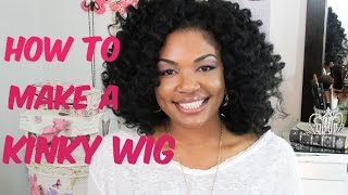 getlinkyoutube.com-How to make a Kinky Crochet Wig