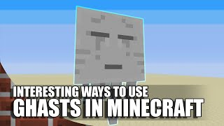 getlinkyoutube.com-Interesting Ways To Use Ghasts In Minecraft!