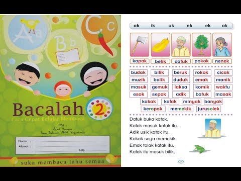 Jual Buku Bacalah Cara Cepat Belajar Membaca