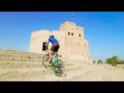 100% Brumotti Road Bike Freestyle Dubai Tour 2017