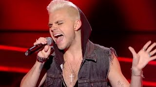 getlinkyoutube.com-Vince Kidd performs 'Like a Virgin' - The Voice UK - Blind Auditions 2 - BBC One