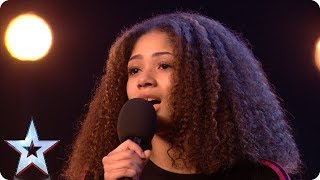 Ella Yard's CAPTIVATING rendition of 'God Only Knows' | Auditions | BGT 2018