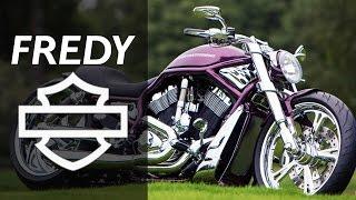 "getlinkyoutube.com-Harley Davidson V Rod ""Purple"" by Fredy | Motorcycle Muscle Custom Review"