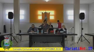 Consiglio Comunale Cariati 24 ottobre 2018   PARTE1