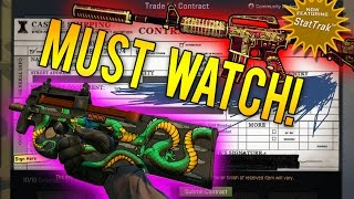 getlinkyoutube.com-BIGGEST Crafting Rarest Skins Video Ever! (35 CS:GO Trade Ups)