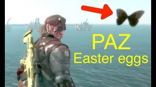 getlinkyoutube.com-MGSV: Phantom Pain - All Paz Easter Eggs (Memento Photos) Metal Gear Solid 5 Secrets: Part 7