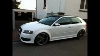 audi s3 the white pearl PART 2