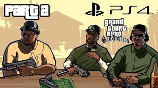 getlinkyoutube.com-Grand Theft Auto San Andreas PS4 Gameplay Walkthrough Part  2 DRIVE-THRU (GTA San Andreas PS4)