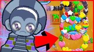 HE USED A SIRI HACK!? - Bloons TD Battles - BTD Battles Funny Moments
