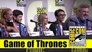 getlinkyoutube.com-Game of Thrones | Comic Con 2016 Full Panel (Sophie Turner & Cast)