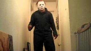 getlinkyoutube.com-Horror costume collection: H1 Michael Myers (Halloween,1978)revised costume w/ Test #2 (part 1 of 2)
