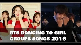 getlinkyoutube.com-💚 BTS (방탄소년단) dancing to girl groups' songs 2016 💚