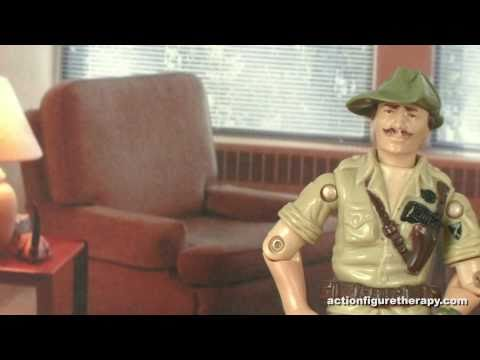 How Does A Mustache Help In Combat? - Action Figure Therapy