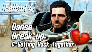 getlinkyoutube.com-Fallout 4 - Paladin Danse Romance - Breaking Up & Getting Back Together