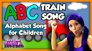 ABC Song | ABC Train - Nursery Rhymes