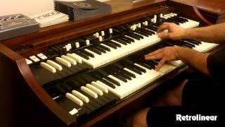 getlinkyoutube.com-Joe Pantano Killing it on the Hammond Organ - A-100 Restoration by Retrolinear