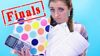 The Stress of Finals!   12 Days of Vlogmas {Day 3}   Brooklyn and Bailey