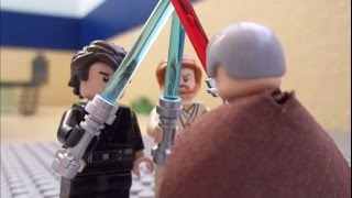 getlinkyoutube.com-Lego Anakin & Obi-Wan vs Count Dooku