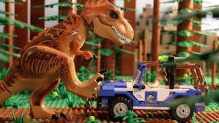 "getlinkyoutube.com-""A Jarring Encounter"" - LEGO Jurassic World - Mini Movie"