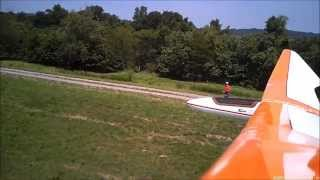 Bird of Time 3M Barely Slope Soaring on a 25-foot Levee