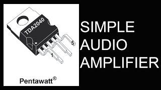 getlinkyoutube.com-How to Make Simple Hi-Fi Audio Amplifier(HD)