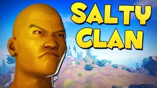 GRIEFING A SALTY CLAN - Rust Funny Moments ft. Faceless