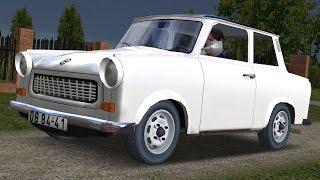 getlinkyoutube.com-Trabant 601 drive (Links) - Racer: free game
