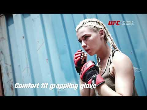 UFC Contender Gloves Small/Medium - Red