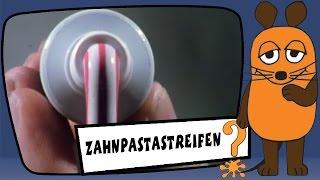 getlinkyoutube.com-Wie kommen die Streifen in die Zahnpasta? - Sachgeschichten mit Armin Maiwald