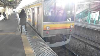 getlinkyoutube.com-とても親切な車掌さん 乗客ベビーカー乗せ介助 JR南武線