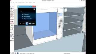 getlinkyoutube.com-how to make a kitchen in sketchup 2014