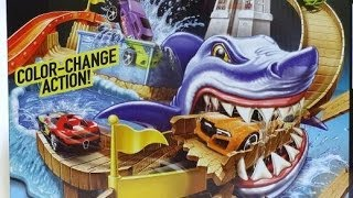 getlinkyoutube.com-2014 COLOR SHIFTERS HOTWHEELS TRACK SHARK PORT SHOWDOWN