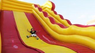 More Outdoor Jumping Fun in Dubai