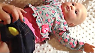 Playborn Baby Doll Annabelle Changing Video