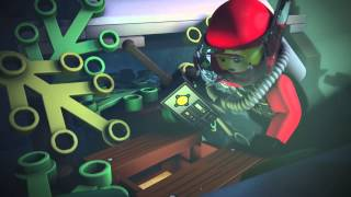 Explore the Secrets of the Ocean - LEGO® CITY Minimovie (3D)