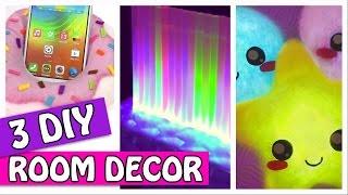 getlinkyoutube.com-3 DIY ROOM DECOR - LIGHT PILLOW, LED LAMP AND PHONE HOLDER - Innova Crafts (compilation)