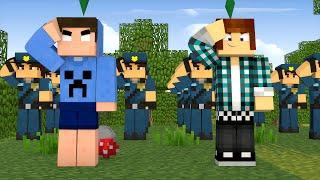 getlinkyoutube.com-Minecraft : TREINANDO POLICIAIS !! - The Sims Craft Ep.243