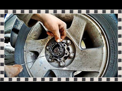 ? Регулировка подшипника передней ступицы. Mitsubishi Pajero Sport. Bearing front hub