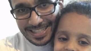 هدية المنشد علي الهمش لبنت اخته بيسان بمولدها