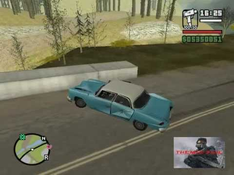 CJ mata a pie grande - GTA san andreas [loquendo]
