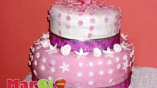 getlinkyoutube.com-Torta di compleanno a  piani