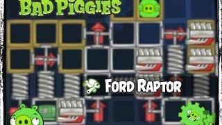 getlinkyoutube.com-Bad Piggies Ford Raptor Replica - Jump Tests