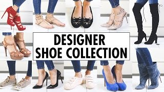 getlinkyoutube.com-MY DESIGNER SHOE COLLECTION | Amelia Liana