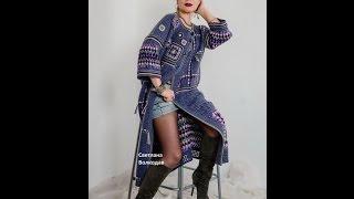 getlinkyoutube.com-Красивые вязаные пальто и пончо. Beautiful knitted & crochet coat & poncho.