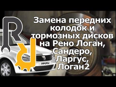 Где у Dacia Sandero задние тормозные колодки