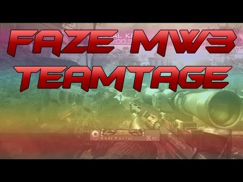 FaZe - Modern Warfare 3 Teamtage #4