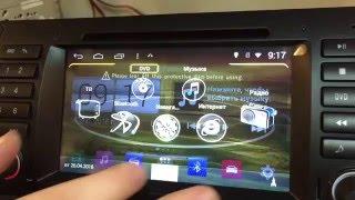 Winca S160 платформа Android 4.4.4 магнитола Unison BMW X5, E39, E53