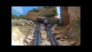 Nゲージトーマス 軽快に踏む地雷