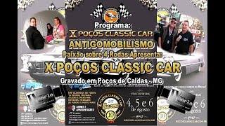 X Poços Classic Car-Poços de Caldas MG.2017