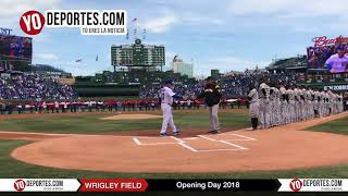 Chicago Cubs Wrigley Field Opening Day 2018